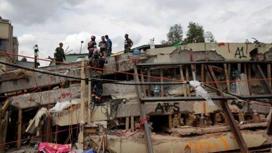 El derrumbe del Colegio Rébsamen en el sismo del 19 de septiembre de 2017 causó la muerte de 19 niños. (Reuters, archivo)
