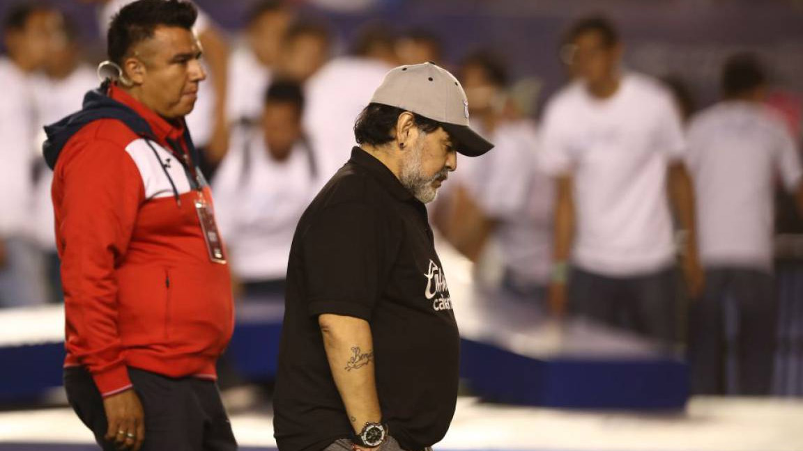 Diego Armando Maradona. / Diego Armando Maradona (Getty Images)