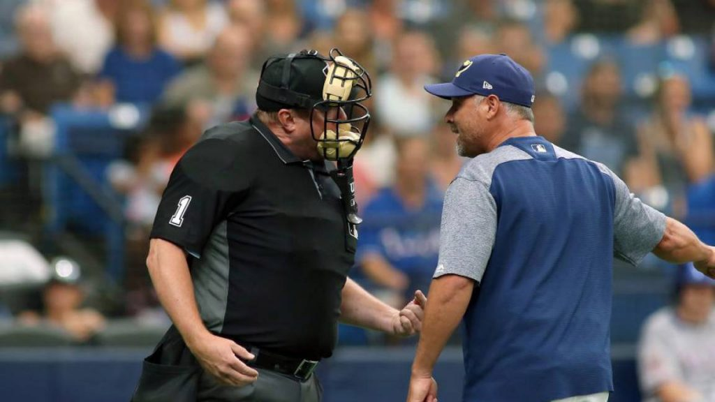 Umpire de béisbol. / Umpire de béisbol (Getty Images)