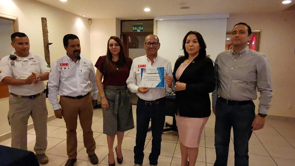 LA SSPYTM CAPACITA EN MATERIA DE PROTECCIÓN CIVIL A INTEGRANTES DE GRUPO RED CANACINTRA CULIACÁN.