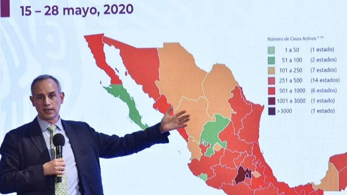 9 MIL 44 MUERTOS POR COVID-19 Y 81 MIL 400 CASOS EN MÉXICO