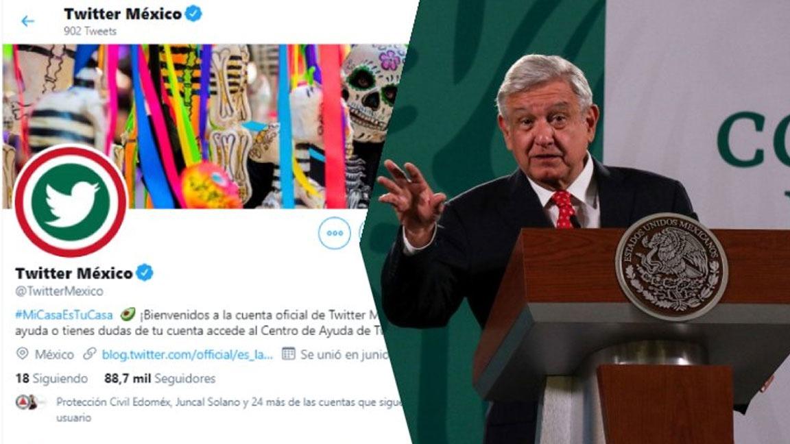 TWITTER MÉXICO RESPONDE A AMLO TRAS SEÑALAMIENTOS CONTRA SU DIRECTOR